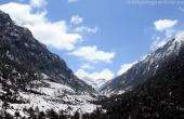Snow-fall enroute Sela pass