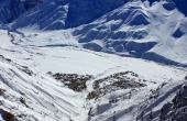 View of Kaza from the top