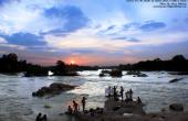 Sunrise On The Banks Of Betwa River Orchha